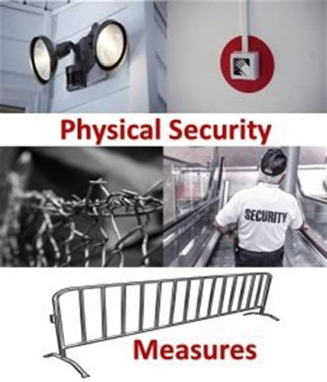 implementing physical security measures get certified