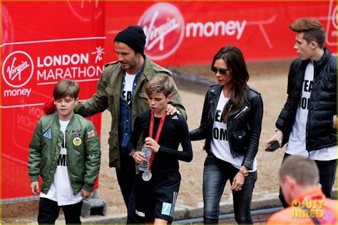 romeo beckham speaking victoria beckham reveals why she is often seen with