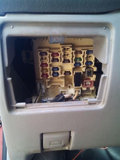 1999 Toyota Corolla Radio Fuse Toyota Corolla 1999 Fuse Box Car Talk Nigeria