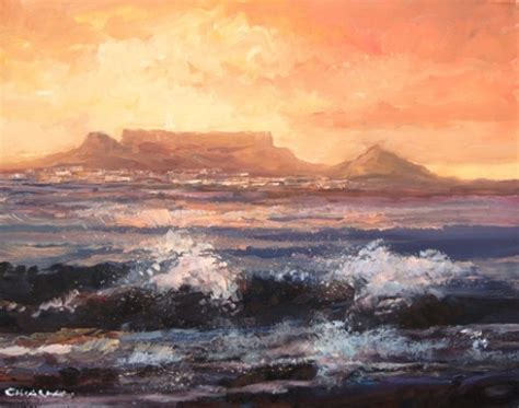 spray painting quotes cape town sea cape town painting by mauro chiarla