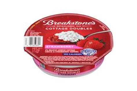 Strawberry Cottage Cheese by Breakstone S Cottage Doubles Strawberry Cottage Cheese 3 9