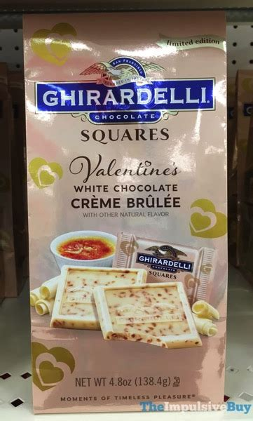 Creme Brulee Shelf by Spotted On Shelves Ghirardelli Limited Edition White