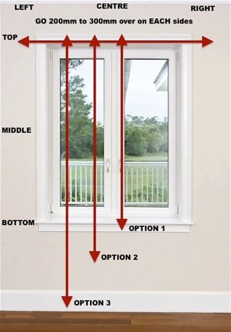 Curtain Measuring Guide Home Design Decor Ideas
