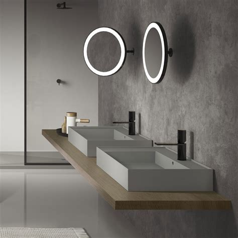 round illuminated bathroom mirror illuminated bathroom mirrors a stylish bathroom lighting