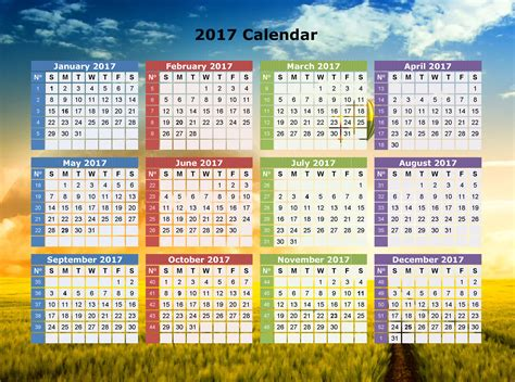 New Calendar Images Happy New Year 2017 Calendar 9to5animations