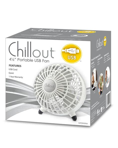 chillout usb desk fan walmart