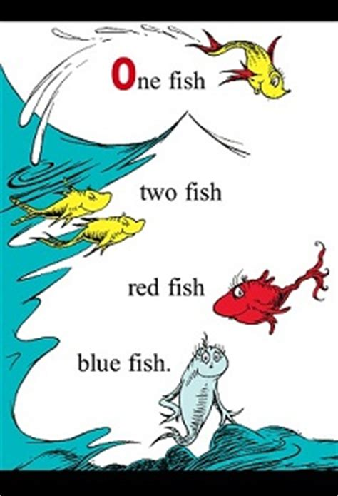 2fish a poetry book books dr seuss fish blue fish book