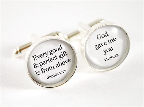 Wedding Bible Verses For And Groom by Bible Verse Every Gift Is From Above Personalized
