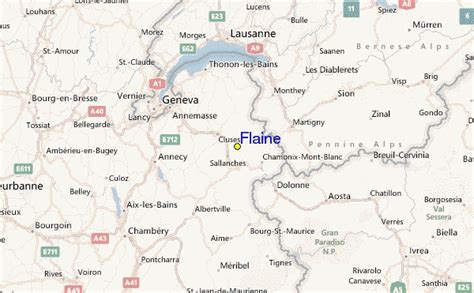 Guide de Station de Ski de Flaine, Carte & hébergement vacances de ski à Flaine