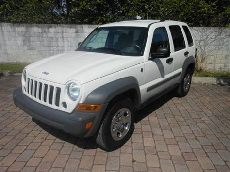 Jeep Liberty 4 Wheel Drive Find Used 2006 Jeep Liberty 4x4 All Wheel Drive 3 7l 4
