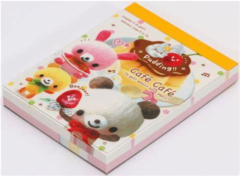 Memopad Nota Mini Nota Burger mini memo pad cafe cafe pudding japan kawaii blocs de notas papeler 237 a tienda kawaii