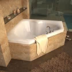 atlantis tubs 6060c cascade 60 x 60 x 23 inch corner