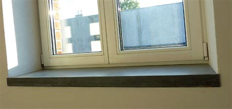 Fensterbank Beton by Beton Fensterbank