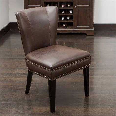 Kitchen Accent Furniture Trent Home Thelma Accent Dining Chair In Brown 414832cy