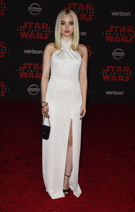The Premiere by Dove Cameron Wars The Last Jedi Premiere In La