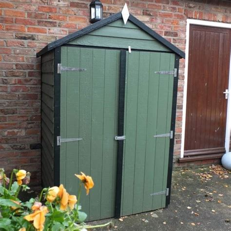 4 X 3 Wooden Shed by Shire Overlap Apex Shed 4x3 Garden