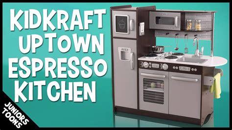 kidkraft uptown espresso kitchen 2018 unboxing assembly