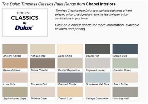classic paint dulux timeless classic