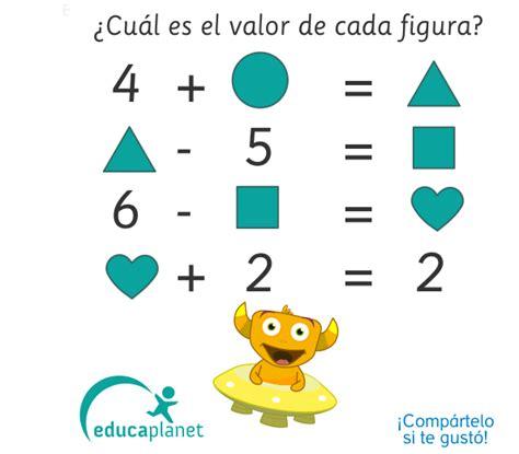enigmas matemticos acertijo matem 193 tico pasatiempos enigmas con operaciones resolver este enigma acertijos y