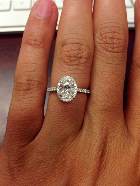 Oval Engagement Rings by Best 25 Oval Wedding Rings Ideas On Oval