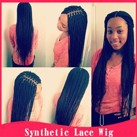 American Hair Style Books For Sale by Braided Lace Front Wigs American Braided Wig For