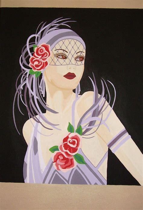 art deco lady l 721 best art nouveau and art deco images on pinterest