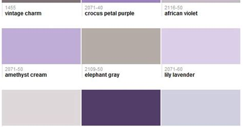 tresor trouve french lavender gray walls check best selling purples benjamin moore my favorites are