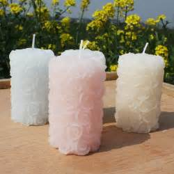 beautiful designed decorative pillar candles