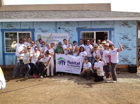 giveback homes charity home building work day