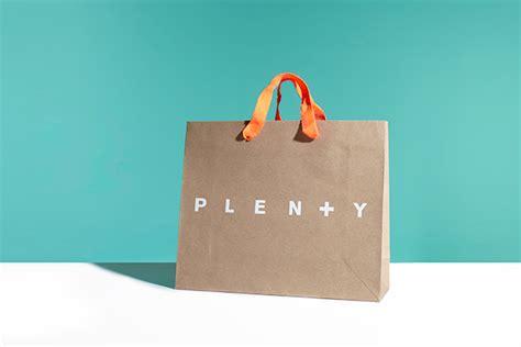 Bag Of Plenty by Plenty Shopping Bag Design On Behance