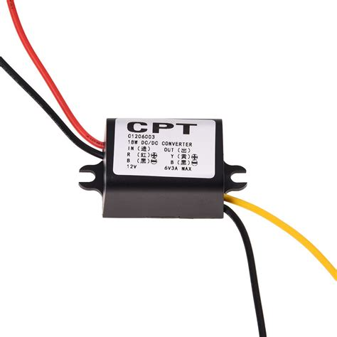 12v dc resistor 12v to 6v dc dc buck converter power supply voltage regulator r8v5 ebay