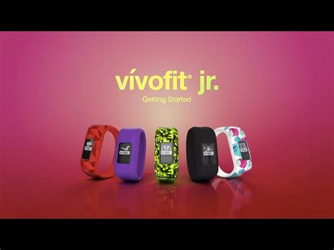 reset vivofit jr v 237 vofit 174 jr tutorial videos garmin united states