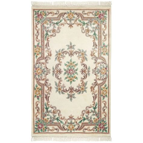 decorators collection rugs home decorators collection imperial ivory 1 ft 9 in x 2 ft 9 in area rug 0294300420 the