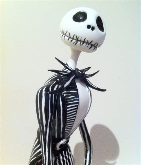 Skellington Cake Decorations by Creepy Nightmare Before Cakes Cakecentral