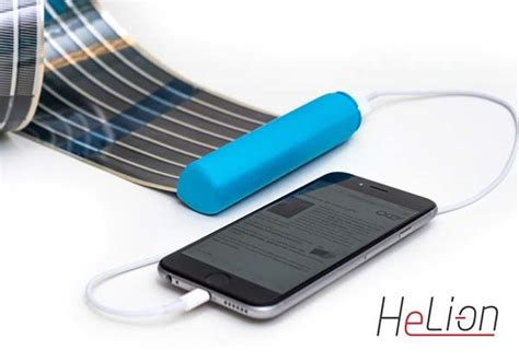 are solar chargers any heli on portable solar charger boasts a retractable solar