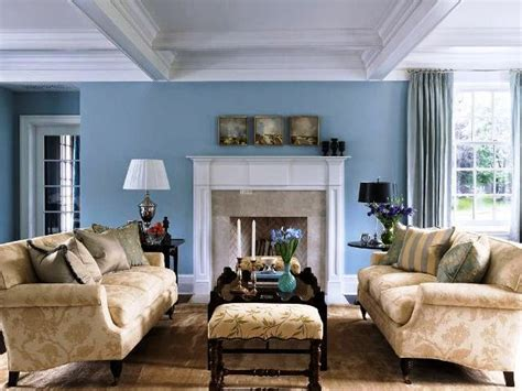 blue wall living room best wall paint colors for living room