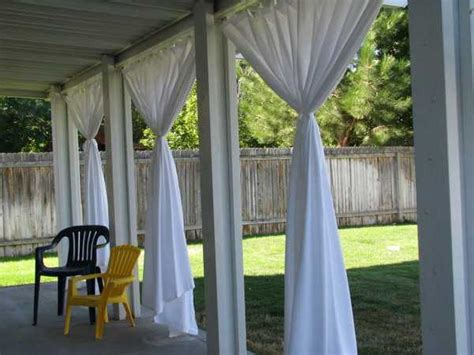 Curtains On Patio Outdoor Curtains For Porch And Patio Designs 22 Summer Decorating Ideas