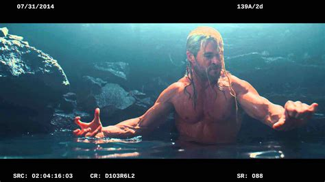 thor movie kiss scene norn cave deleted scene marvel s avengers age of ultron