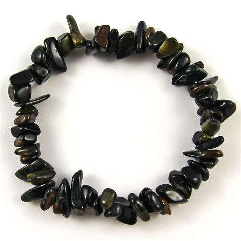 beaded stretch bracelets gemstone chip beaded stretch gift charm reiki