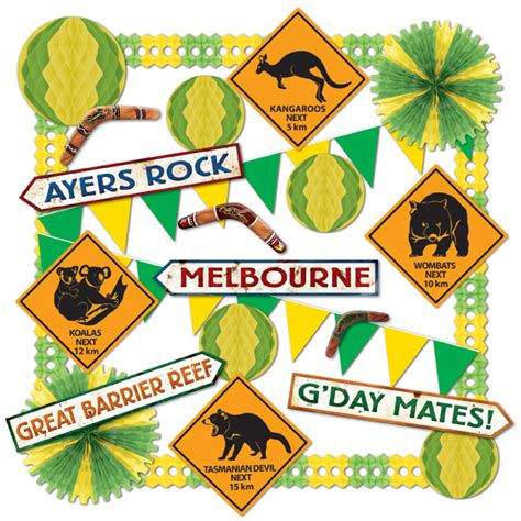 decorations australia packs