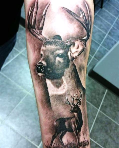 cool deer tattoos 30 deer tattoos tattoofanblog