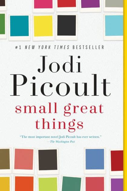 small great things by jodi picoult hardcover barnes noble 174