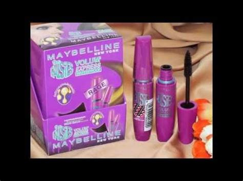 mascara maybelline volume ungu 15rb 082329930707