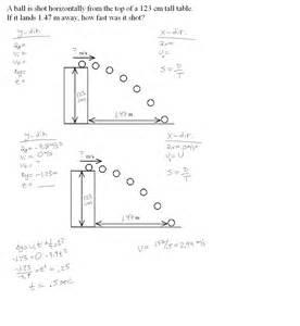 projectile motion worksheet abitlikethis