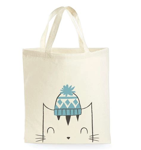 Tote Cat tote bag cat tote bag cat book bag school bag