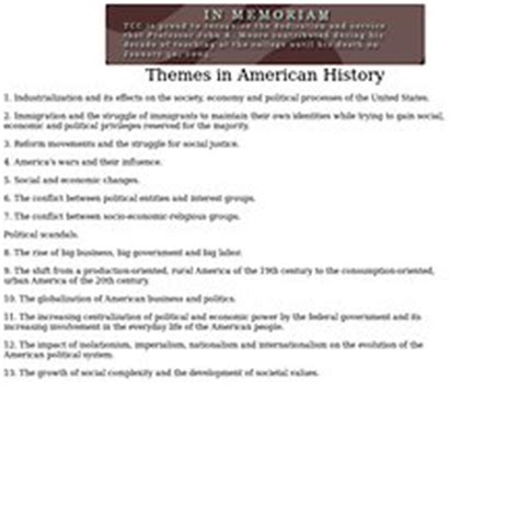 us history themes quizlet themes of us history pearltrees