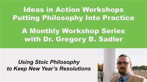 philosophy of new year ideas in using stoic philosophy to keep new years