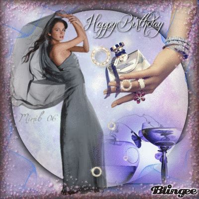 happy birthday renarena  pictures blingee pinterest happy birthday  animation