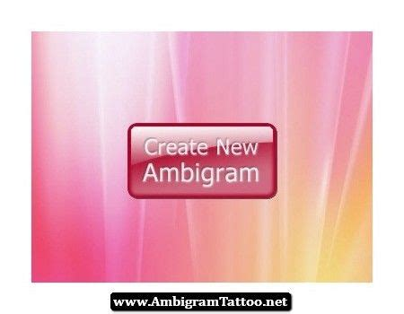 ambigram tattoo generator best 25 ambigram ideas on im