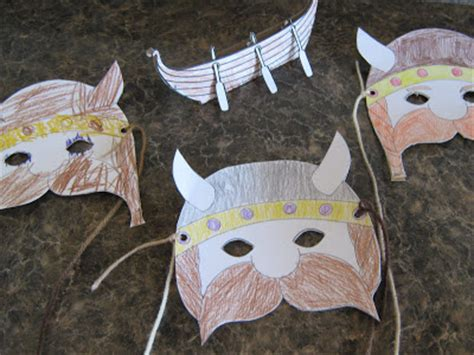 viking crafts for almost unschoolers viking craft
